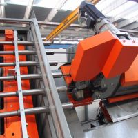 Schnell Lista bend 20R multi rotor richtmachine. Uniek knipsysteem, snelle draadwissel mogelijk.