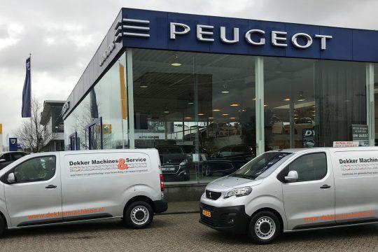 Peugeot Expert, Dekker Machines
