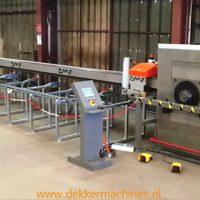 DMF Machinery, knippen en buigen in één machine. Snel, eenvoudig en robuust.